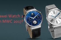 Huawei Watch 2 MWC 2017