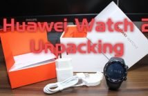 Huawei Watch 2 - carbon black - Unpacking