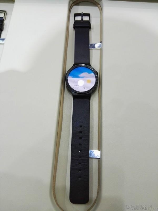 Huawei Watch Actice schwarz Lederarmband