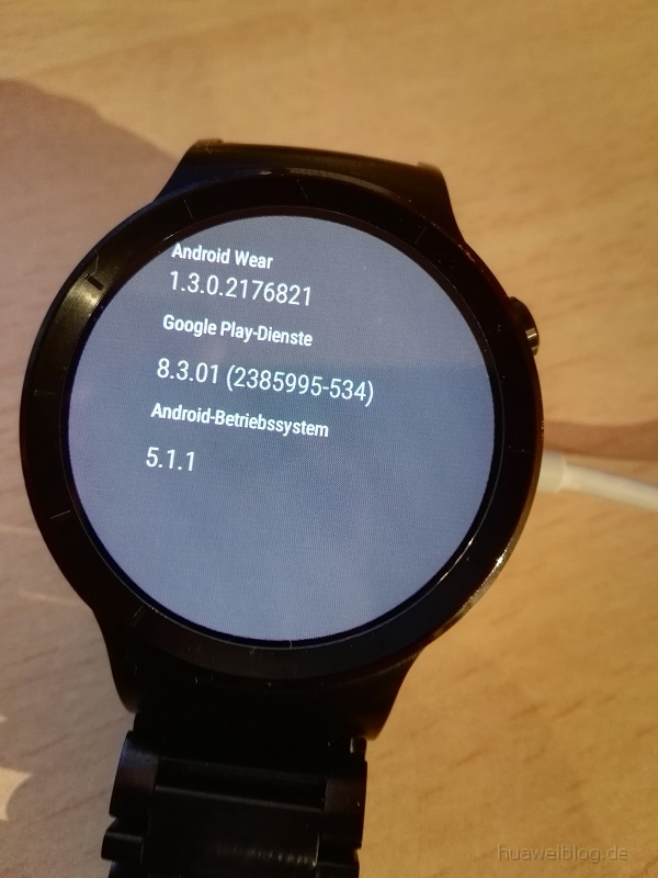Huawei Watch Android Wear Info