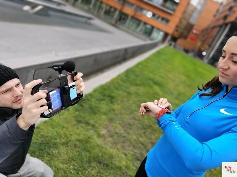 Huawei Watch GT 2 Test Gesa läuft 2 Wochen Behind the scenes