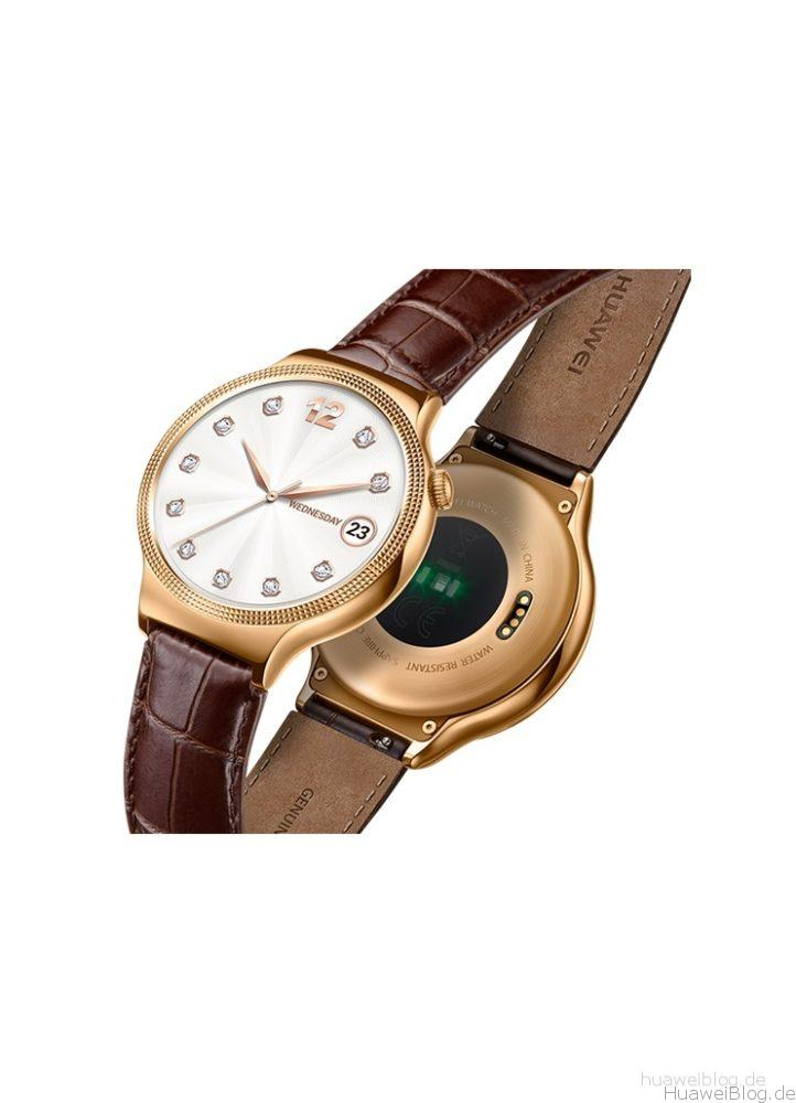 Huawei Watch Lady Damen braun Front