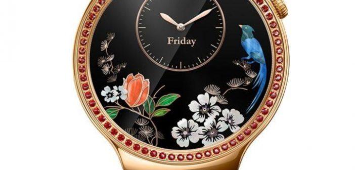 Huawei Watch Lady Damen rot Display