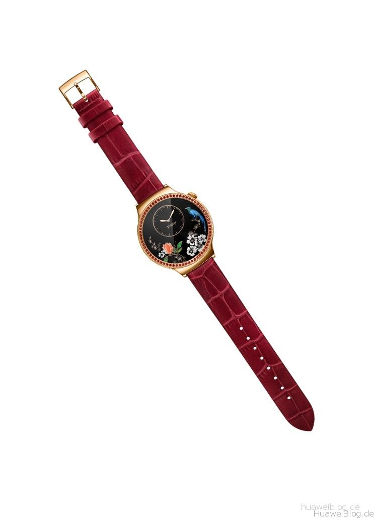Huawei Watch Lady Damen rot Front