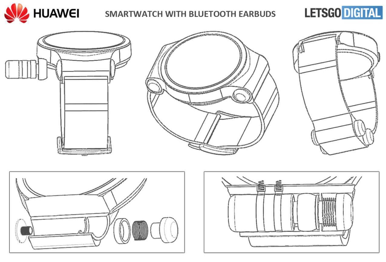 Huawei Watch Patent Bluetooth Kopfhörer