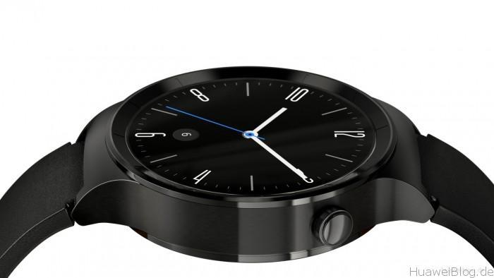 Huawei Watch Schwarz Leder
