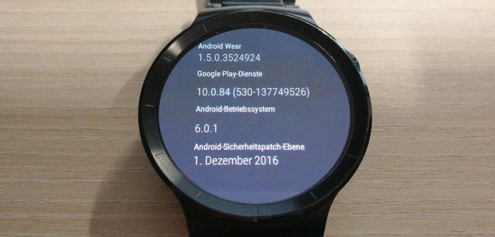 Huawei Watch Update