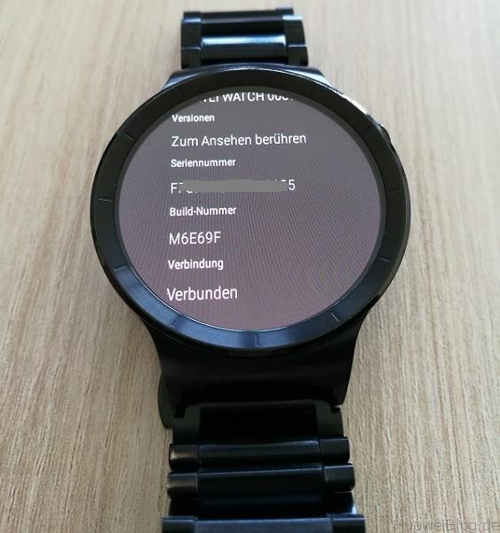 Huawei Watch Update M6E69F