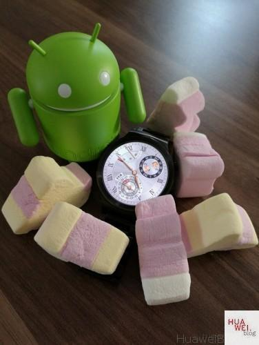 Huawei Watch Update Marshmallow Android Wear 1.4