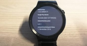 Huawei Watch Update November