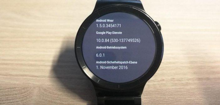 Huawei Watch Update bringt aktuelle Sicherheitspatches
