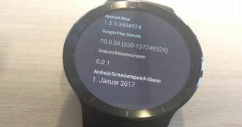 Huawei Watch Update Sicherheitspatch Januar 2017