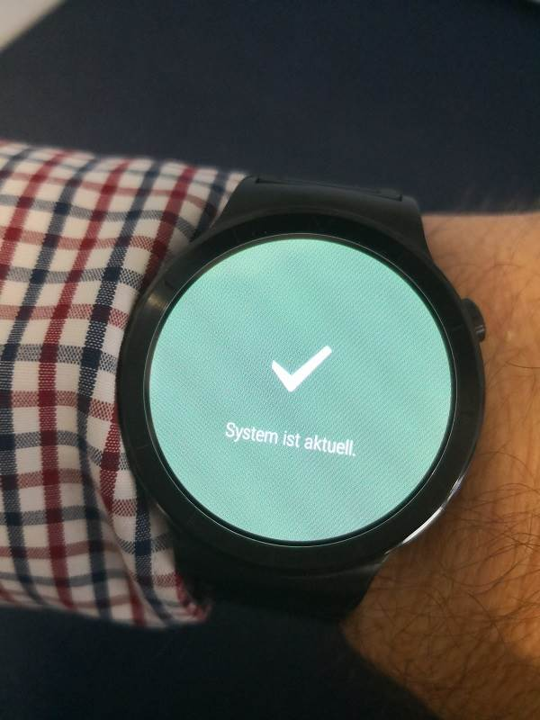 Huawei Watch Update System
