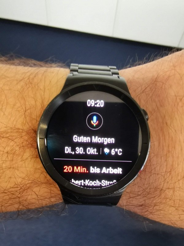 Huawei Watch Update Wear OS 2.1. Google Assistant