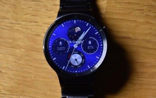 Huawei Watch Watchface Mondphase