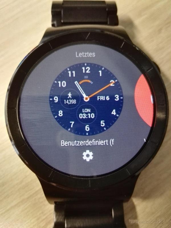 Huawei Watch Watchface individualisierbar