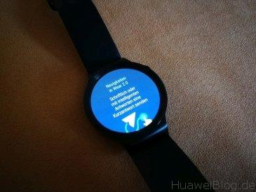 Huawei Watch Wear 2.0 Erste Schritte