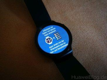 Huawei Watch Wear 2.0 Ziffernblatt