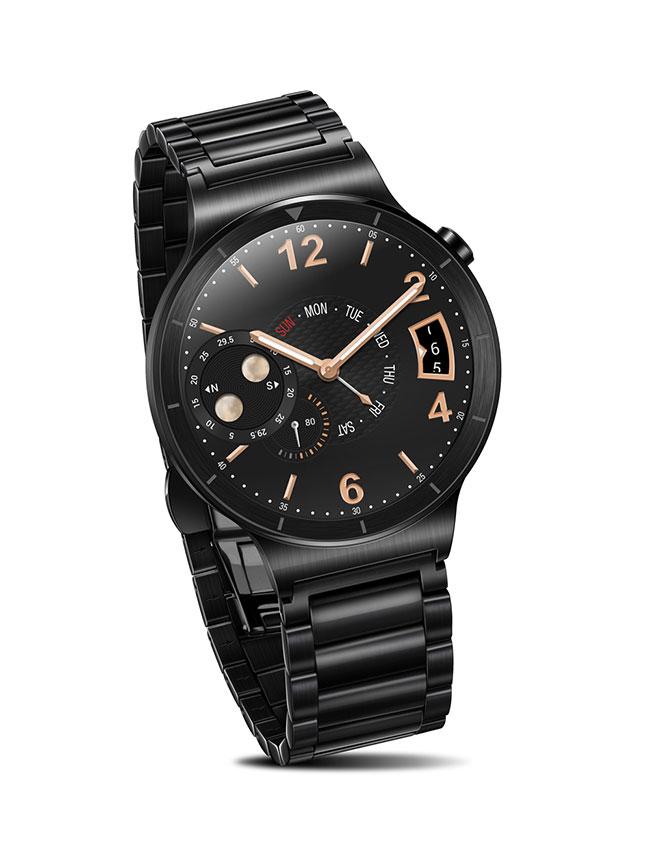Huawei Watch schwarz Metall