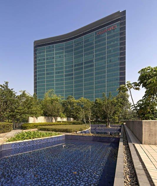Huawei Weltzentrale Shenzhen