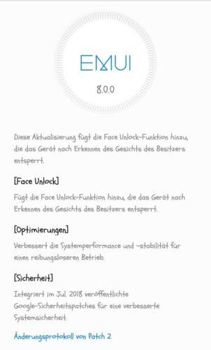 Huawei Y5 (2018) Firmwareupdate 2