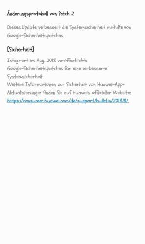 Huawei Y5 (2018) Firmwareupdate 3