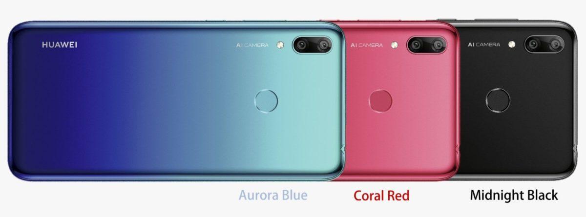 Huawei Y7 2019 Farben