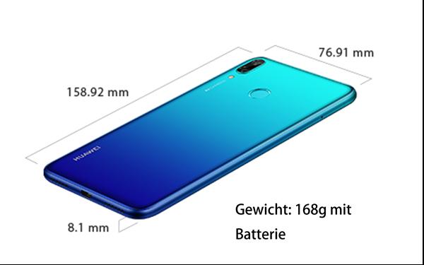 Huawei Y7 2019 Größe