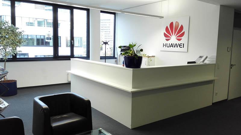 Huawei erste Zentrale in Deutschland Eschborn
