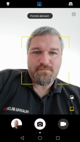Huawei nova 2 Test Portrait Modus