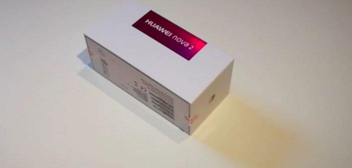 Huawei nova 2 Unboxing
