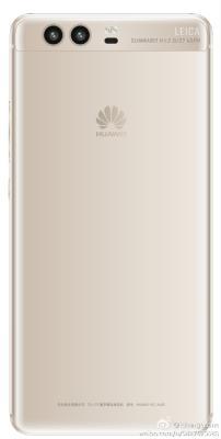 Huawei P10 weiß back
