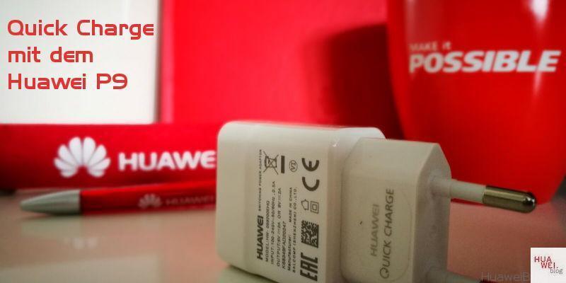 Huawei QuickCharge Ladegerät - Zubehör