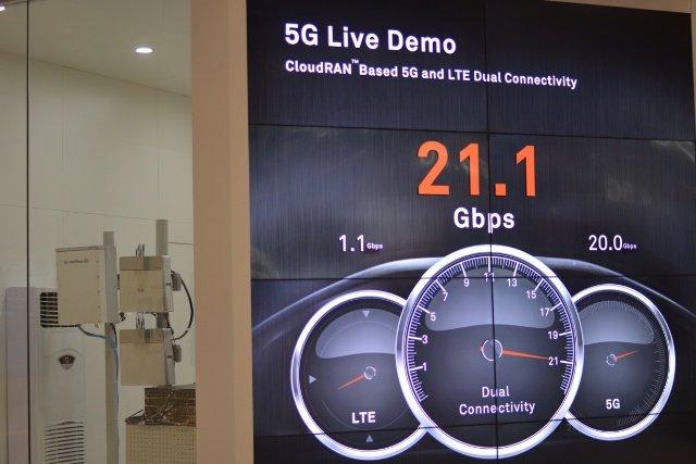Huawei 5G-Demo