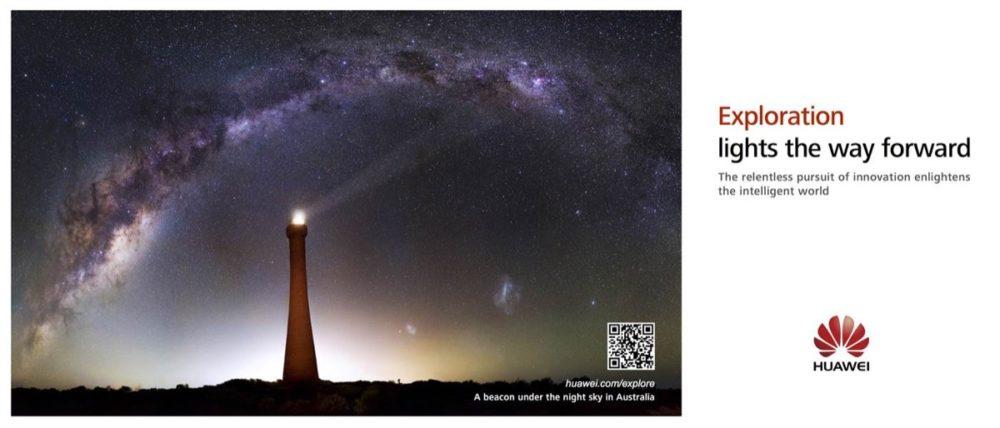Huawei - Leuchtturm / Beacon of Light-Kampagne