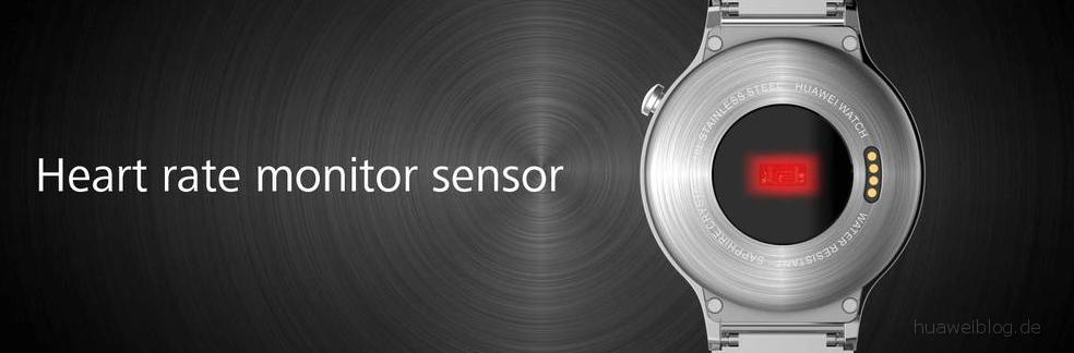 Huawei Watch - Herzfrequenzmessung