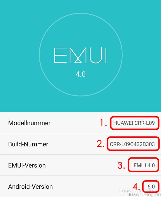Firmware Update - Was bedeutet CUST, EMUI und Co  - Huawei Blog