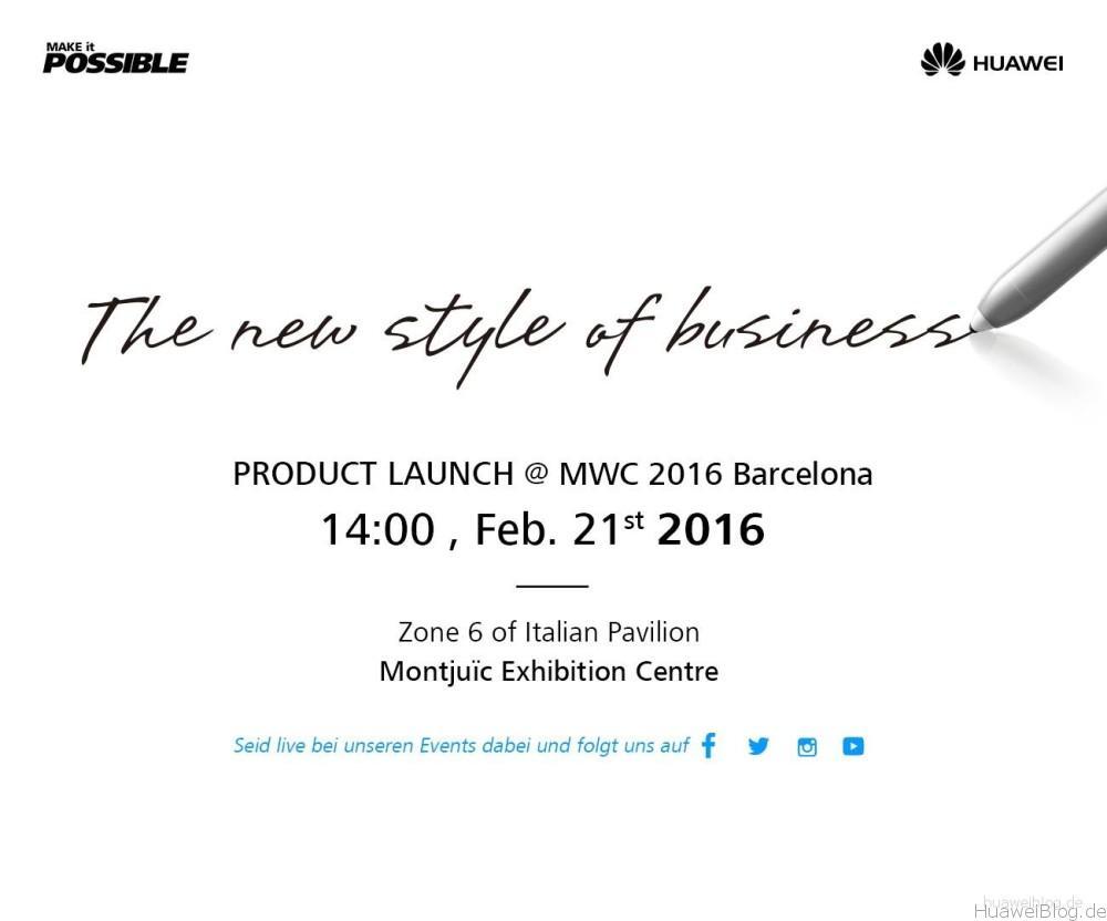 Huawei MWC 2016
