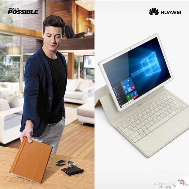 Huawei Matebook Werbekampagne
