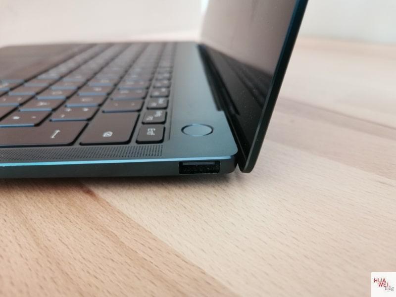 Huawei Matebook X Pro 2020 Test Rechts