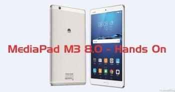 Huawei MediaPad M3 8.0 HandsOn deutsch