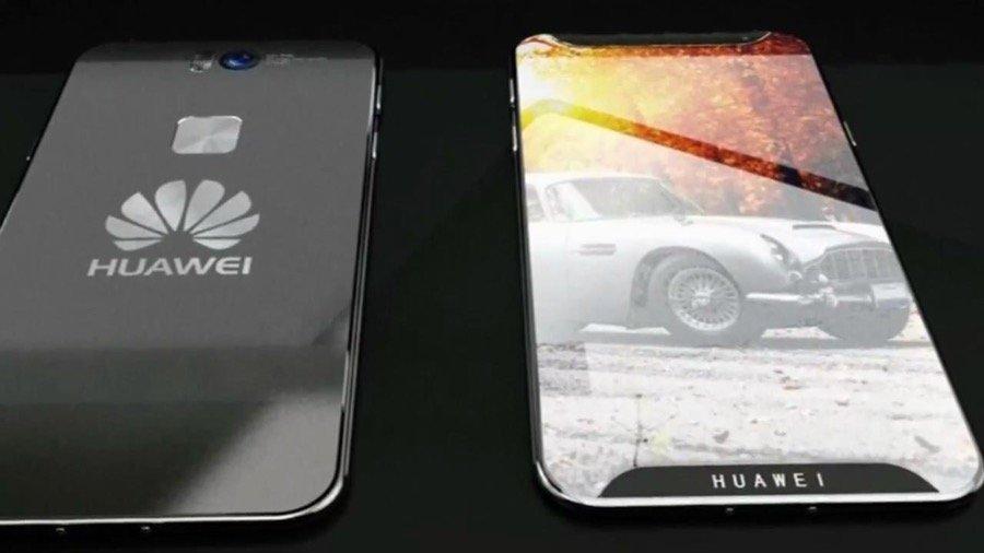Huawei P11 Konzeptgrafik flach