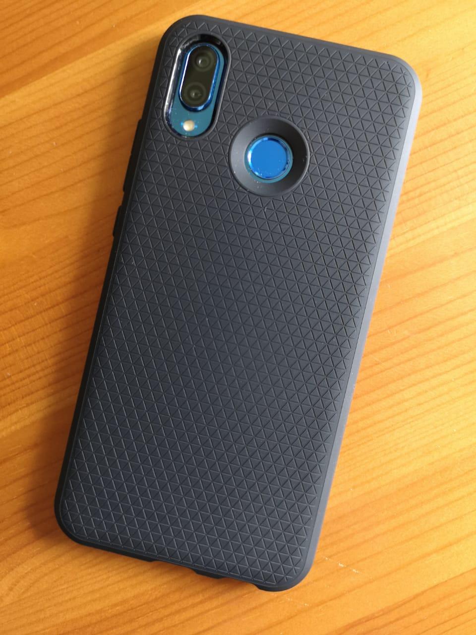 Huawei_P20_lite_liquid_air_Hülle_Case_Spigen_Test_2