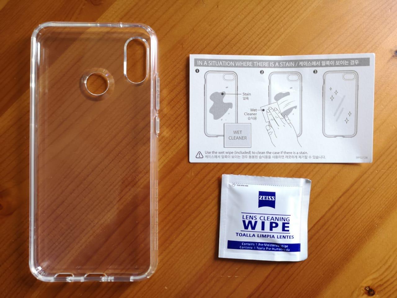 Huawei_P20_lite_liquid_crystal_Hülle_Case_Spigen_Test Zubehör