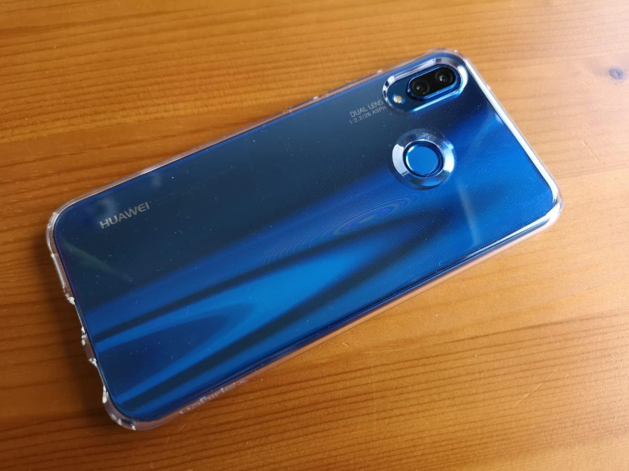 Huawei_P20_lite_liquid_crystal_Hülle_Case_Spigen_Test_7