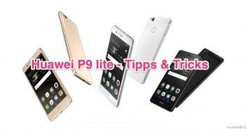 Huawei P9 lite - Tipps & Tricks