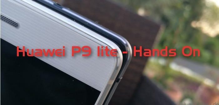 Huawei P9 lite - Hands On - Deutsch