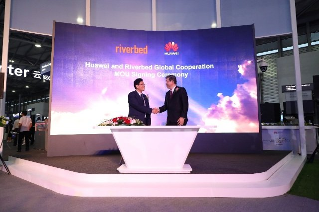 Huawei + Riverbed: Digitale Transformation
