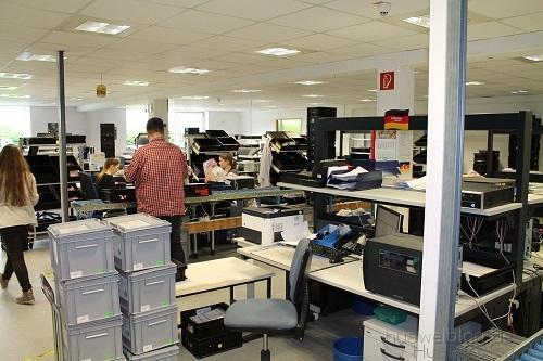 Huawei Service ECC ESC Arbeitsplatz