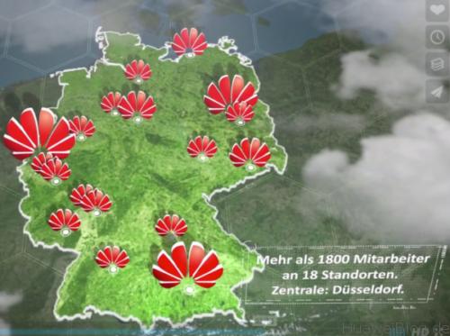 Huawei Standorte Deutschland